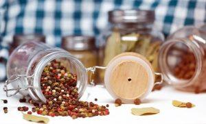 Pepper Beans Spice Jar Ingredient - monicore / Pixabay